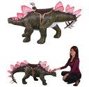 全長125cm!乗れるステゴザウルス フィギュア(恐竜フィギュア)