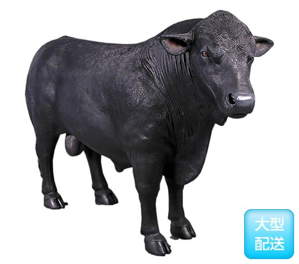 アニマルビッグフィギュアシリーズ【【アンガス牛】ブラック ブル(等身大フィギュア)
