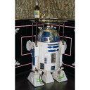 R2D2(アールツーディーツー) 等身大フィギュア付ガラストップテーブル