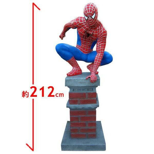 スパイダーマン フィギュア(柱)ビッグ 等身大フ...の商品画像