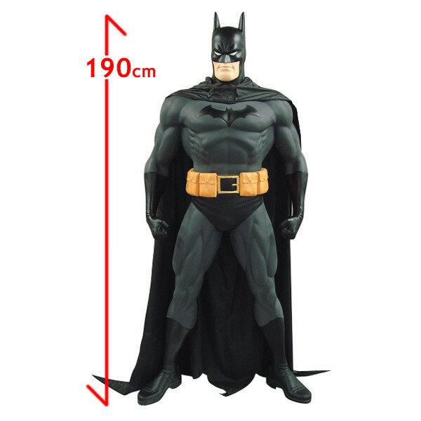 バットマン フィギュア(スタンディング)布製マント付 等身大フィギュア