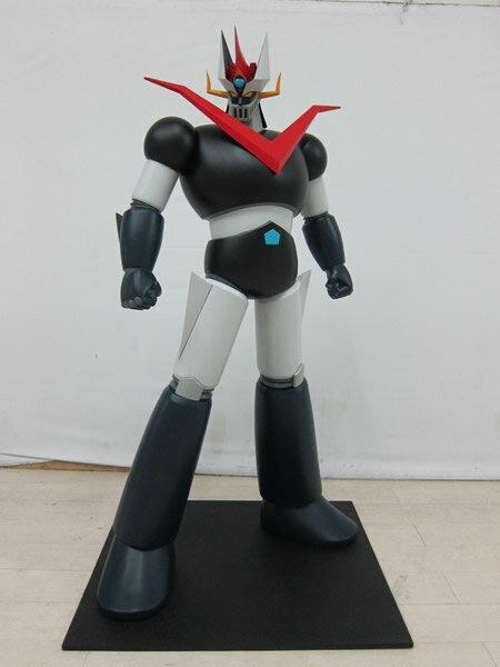 なつかしのテレビアニメ 新グレートマジンガー等身大フィギュア