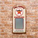 ウォールミラー(壁掛け鏡) 「GASOLINE」