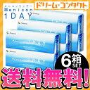 【送料無料】メニコンワンデー 1箱30枚入 6箱セット / 1日使い捨てコンタクトレンズ menicon【1day】【ワンデーアクエア】