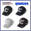 【送料無料】【2015年秋冬モデル】QG0594 ルコック ゴルフ キャップ / Le coq sportif GOLF