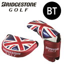 【送料無料】ブリヂストン ゴルフ パターカバー(マレット・ピン)  PCG770 メジャーモデル(B