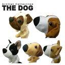 【送料無料】THE DOG フェアウェイウッド用ヘッドカバー パグ・ビーグル・ボストンテリア・ウェル