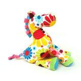 华丽的花序梗的印刷富有魅力的受欢迎的马的绒毛玩具。以pop彩色鲜艳的花样个性的!华丽的马���绒毛玩具道格拉斯公司绒毛玩具怀特弗劳尔软管礼物礼物生日[ポップでカラフルな柄が個性的!華やかなうまのぬいぐるみ