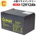 【総合評価 4.6】小型ドライシールドバッテリー 12V12Ah LONG製