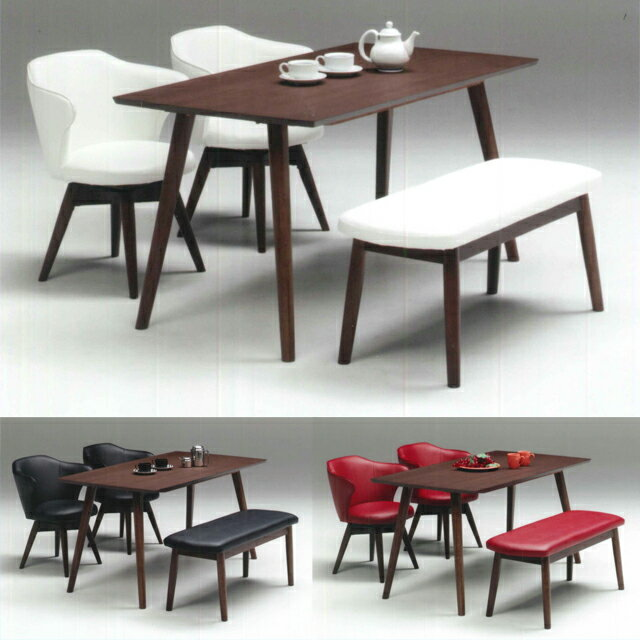 set bench type 4 piece set 4 person 4 for dining set dining room set