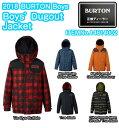 BURTON バートン ユース Boys' Dugout Jacket 14614002 Room-To-Growシステム クラシックフィット キッズ スノー ジャケット 2018モデル 正規品