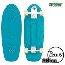 """Penny SkateBoard ペニースケートボード HIGH LINE29"""" OCEAN MIST 2HCL1 29インチ ハイライン サーフィン練習用 クルーザー 素足走行可.."""