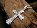 【kapua ハワイアンジュエリー DREDLINE】htc-005 EXクロスペンダント メンズ レディース silver925 シルバー925 シルバーアクセ ハワジュ ネックレス 十字架 大きめ