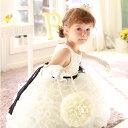 アヴリーヌコサージュフラワーカバン / 子供ドレス 子供用ドレス こどもドレス ベビードレス 結婚式 発表会 コンクール