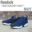 【送料無料】Reebok INSTAPUMP FURY ポンプフューリー / ネイビー【リーボック】【ポンプフューリー】【 V65752】