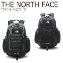 ショッピングschott ノースフェイス バックパック THE NORTH FACE メンズ レディース TECH SHOT II テック ショット II DARK GRAY グレー BLACK ブラック NM2DL00A/B バッグ 【中古】未使用品