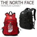 ショッピングused ノースフェイス バックパック THE NORTH FACE メンズ レディース BOREALIS CLASSIC ボレアリス クラシック BLACK ブラック RED レッド NM2DL03A/B バッグ 【中古】未使用品