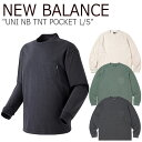 ニューバランス Tシャツ NEW BALANCE メンズ レディース UNI NB TNT POCKET L/S ニューバランス × ディスイズネバーザット ポケット ロングスリーブ 全3色 NBNDA2L113 ウェア 【中古】未使用品