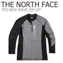 ショッピングnorth ノースフェイス 水着 THE NORTH FACE メンズ M'S NEW WAVE ZIP-UP ニュー ウエーブ ラッシュガード ジップアップ GREY グレー NJ5JK07K ウェア 【中古】未使用品