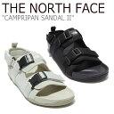 ショッピングビーチサンダル ノースフェイス サンダル THE NORTH FACE メンズ レディース CAMPRIPAN SANDAL II キャンプリパン サンダル II BLACK ブラック SAND サンド NS98L19A/J/K シューズ 【中古】未使用品