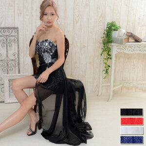 ドレス ロング パーティードレス ナイトドレス キャバ