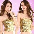 スパンコール ダンス衣装 ダンス 衣装 ヒップホップ 衣装 アイドル キラキラオールスパンコールチューブトップ(ロングタイプ)