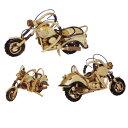 ミニチュアバイク 木製オートバイ インテリアバイク 小 展示品セール 137-6