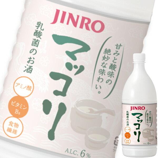 【単品】「眞露(ジンロ)マッコリ」1Lペット【韓国焼酎】