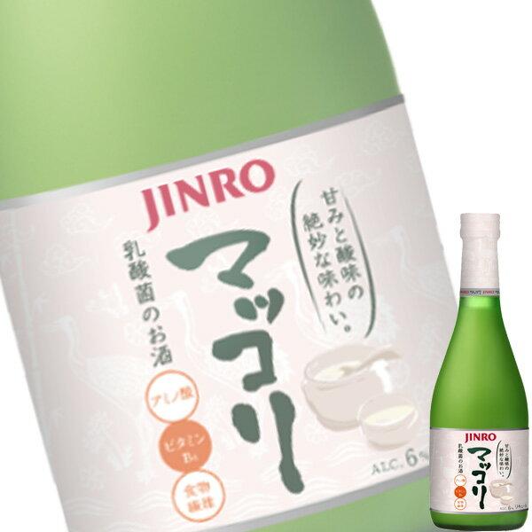 【単品】「眞露(ジンロ)マッコリ」375ml瓶【韓国焼酎】