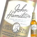 ショッピングウイスキー ジョン ハミルトン 700ml瓶 (バカルディ) (アメリカンウイスキー) (バーボン)
