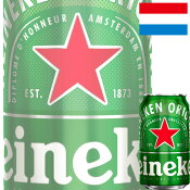 【当店人気商品】キリン「ハイネケン(Heineken)」350ml缶x24本ケース販売【海外ビール】【オランダ】