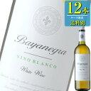 ボデガス セラジャ 「バジャネグラ ブランコ(白) 」750ml瓶x12本ケース販売 (スペイン) (白ワイン) (辛口) (MA)