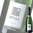 【単品】ヴァルフォルモッサ「カヴァ ムッサ ブリュット(白)」750ml瓶【スペイン】【スパークリングワイン】【MA】