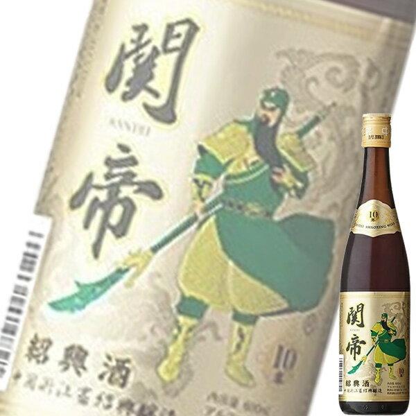 (単品) 日和商事 関帝陳年「10年」紹興酒 金...の商品画像