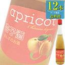 日和商事 杏子酒 470ml瓶 x 12本ケース販売 (中国酒) (フルーツリキュール) (あんず) (アプリコット系)