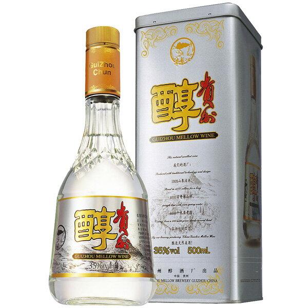 (単品) 日和商事 「貴州醇」500ml瓶 (白酒) (中国酒)