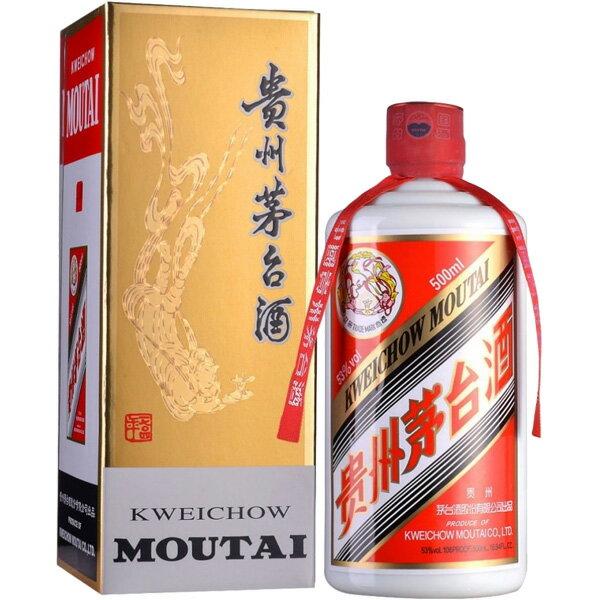 (単品) 日和商事 「貴州茅台酒」500ml瓶 (白酒) (中国酒)