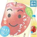 (当店人気商品) サントリー なっちゃん りんご 425mlペット x 24本ケース販売 (果汁飲料)