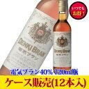 合同酒精電気ブラン40% 720ml瓶x12本ケース販売【お取り寄せ:納期約1週間】