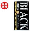 【送料無料】【2ケースセット】サントリー BOSS(ボス) 無糖ブラック 185g缶×30本入×(2ケース) ※北海道・沖縄・離島は別途送料が必要。