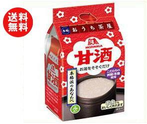 【送料無料】森永製菓 甘酒 4袋×10袋入 ※北海道・沖縄・離島は別途送料が必要。