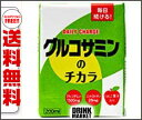 【送料無料】日本ルナ グルコサミンのチカラ 200ml紙パック×16本入 ※北海道・沖縄・離島は別途送料が必要。