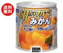 【送料無料】【2ケースセット】はごろもフーズ 朝からフルーツ みかん 190g缶×24個入×(2ケース) ※北海道・沖縄・離島は別途送料が必要。