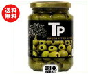 【送料無料】【2ケースセット】富永貿易 TP グリーンオリーブ 340g瓶×12本入×(2ケース) ※北海道・沖縄・離島は別途送料が必要。