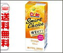 【送料無料】Dole Smart Choice(ドール スマートチョイス) オレンジ 200ml紙パック×18本入 ※北海道・沖縄・離島は別途送料が必要。