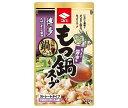 ショッピングもつ鍋 送料無料 ニビシ醤油 博多もつ鍋スープ 醤油味 720mlパウチ×10袋入 北海道・沖縄・離島は別途送料が必要。