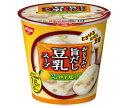 送料無料 日清食品 とろけるおぼろ豆腐 おとうふの旨だし豆乳スープ 17g×12(6×2)個入 北海道・沖縄・離島は別途送料が必要。