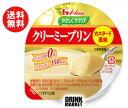 送料無料 【2ケースセット】ハウス食品 やさしくラクケア クリーミープリン カスタード風味63g×48(12×4)個入×(2ケース) ※北海道・沖縄・離島は別途送料が必要。
