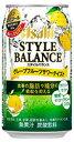 【機能性表示食品】アサヒ スタイルバランス グレープフルーツサワーテイスト ノンアルコール 350ml缶 1ケース24本