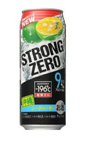 【あす楽対象商品!!】サントリー -196℃ ストロングゼロ ダブルシークワーサー 500ml 1ケース24本 02P03Dec16